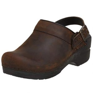 Oiled Leather Clog