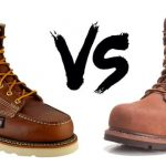 Wedge vs heel work boots