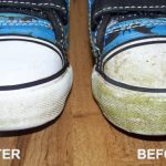 How to Remove Yellow Stains From White Shoes