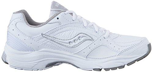 Saucony Women's ProGrid Integrity ST2 Walking Shoe, White/Silver ...