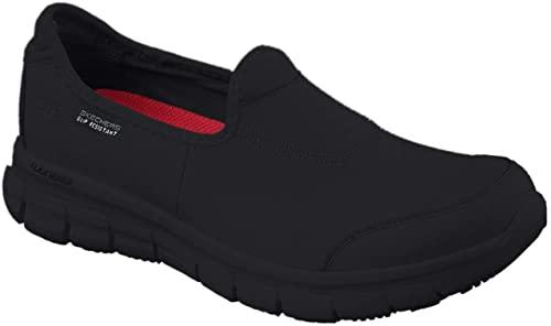 Skechers for Work Women's Sure Track Slip Resistant Shoe: Amazon ...