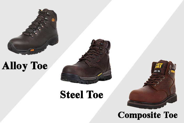 Alloy Toe Vs. Steel Toe Vs. Composite Toe is There a Difference ...