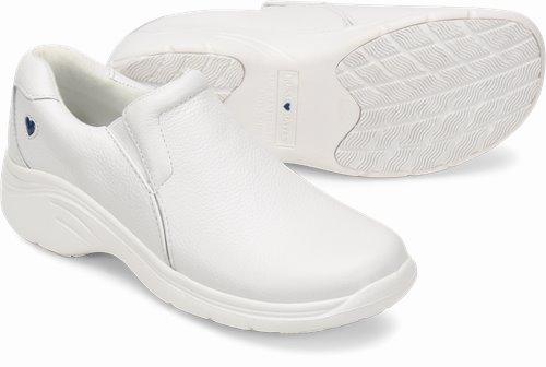 nurse mates white leather shoes Online Shopping -