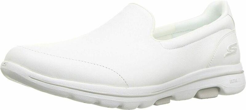 Skechers Women's Go Walk 5-15923 Sneaker 13, White | eBay