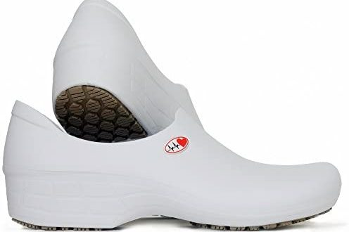 SSW-BCA-P1 Women's Printed Waterproof Non Slip Work Shoes - Nursing Shoes -  KEEPNURSING (6.5, White-Electro Heart): Buy Online at Best Price in UAE -  Amazon.ae