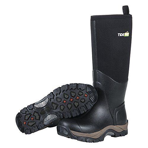 TideWe Sport Boots For Men And Woman Sport Snow Boots 6mm Neoprene Rain Boots Sport Muck boots For Winter M13.   Outdoor boots, Boots, Boots men