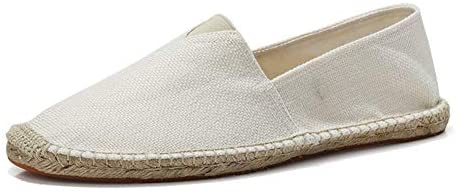 fereshte Women's Men's Casual Espadrilles Loafers Breathable Flats Shoes  Beige Label Size 37-235mm - US 6.5 Women/5 Men: Buy Online at Best Price in  UAE - Amazon.ae