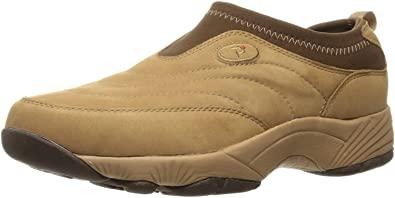 Amazon.com   Propet Women's W3851 Wash & Wear Slip-On, Mushroom Nubuck, 7.5 X (US Women's 7.5 EE)   Walking