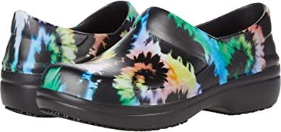 Amazon.com   Crocs Women's Neria Pro II Embellished Clog   Slip Resistant Work Shoes   Mules & Clogs
