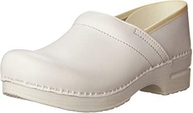 Amazon.com | Dansko Women's White Professional Box 39 2A(N) EU | Mules &  Clogs