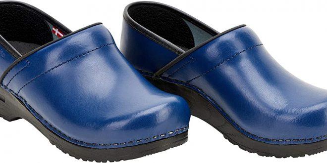 Sanita Professional PU Closed Clog   Original Handmade Flexible Leather Clog  for Women: Amazon.co.uk: Shoes & Bags
