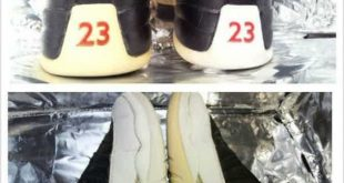 """DIY Sneaker Whitener: How To Clean Yellow Soles With """"Homemade Retrobrite""""-  TheShoeGame.com 