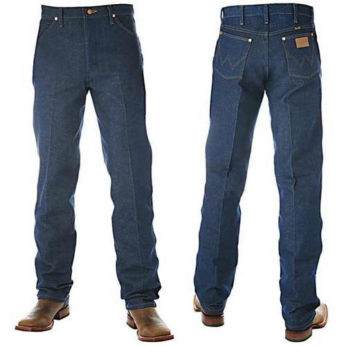 Wrangler Mens Cowboy Cut Original Fit Jeans (13MWZ) Rigid Indigo