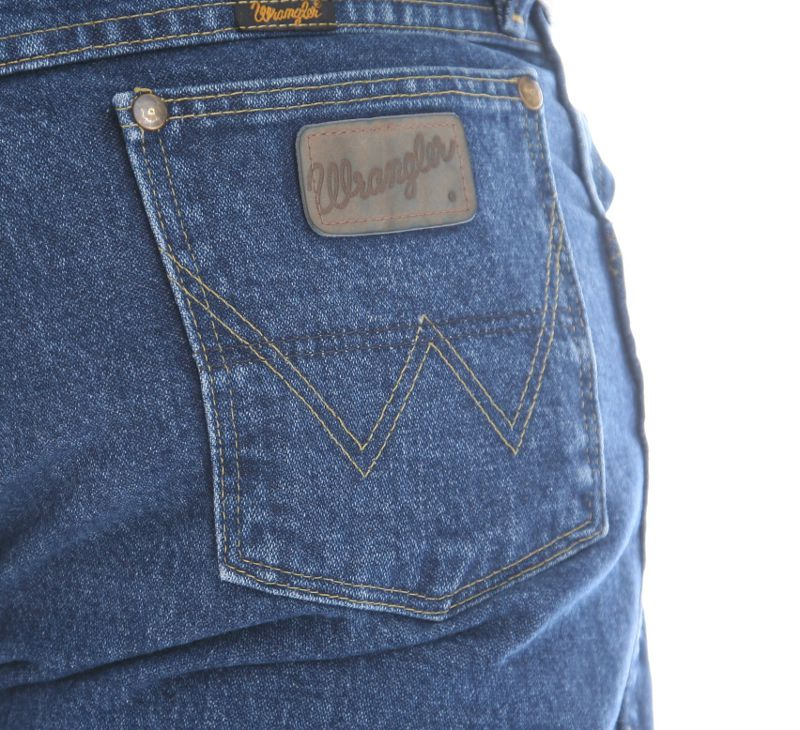 Wrangler - wrangler men's george strait cowboy cut original fit jean, heavyweight stone denim, 42w x 30l - Walmart.com - Walmart.com