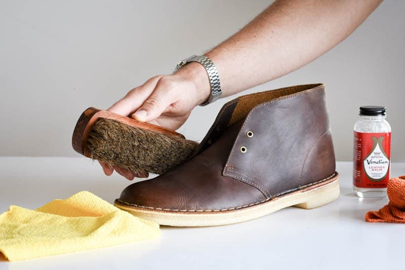 How to Clean Clarks Desert Boots in 4 Easy Steps