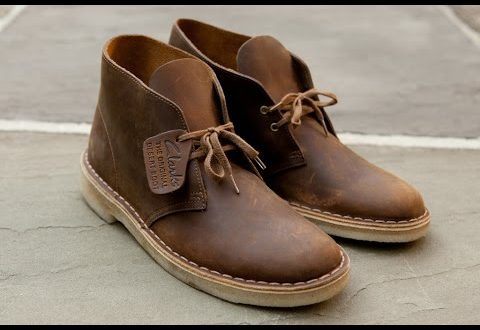 How to Clean Clarks Desert Boots | V.2 | Simple Man Style - YouTube