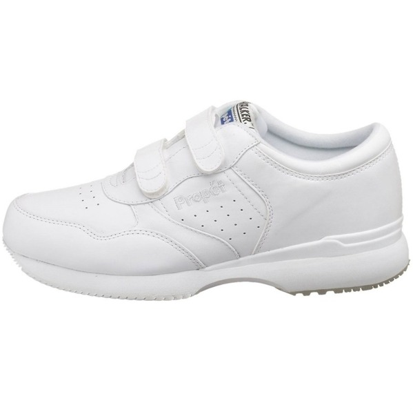 Propet Life Walker Strap M3705 (3E) Extra Wide Mens Walking Shoes: White: US 8.5   Mike Pawley Sports