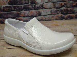 Alegria Duette Flourish White Slip On *DUE-956 | eBay