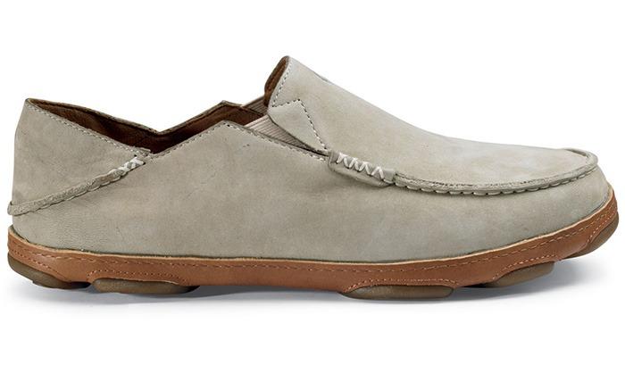 Olukai Men's Moloa Shoes - Silt/Tan