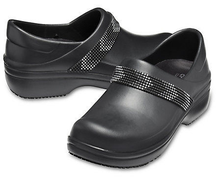 Women's hospital clog - Neria Pro II Embellished - Crocs - anti-slip / washable