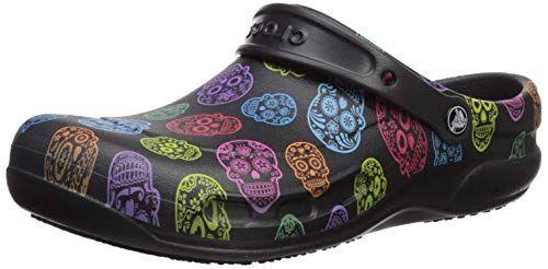 Crocs Men's and Women's Bistro Graphic Clog | Slip Resistant Work Shoe | Great Nursing or Chef Shoe #Mules & Clogs, #Shoes, #Wo… | Chef shoes, Work shoes, Crocs men