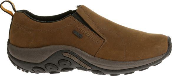 Men's Jungle Moc Nubuck Waterproof Casual Shoes   Merrell