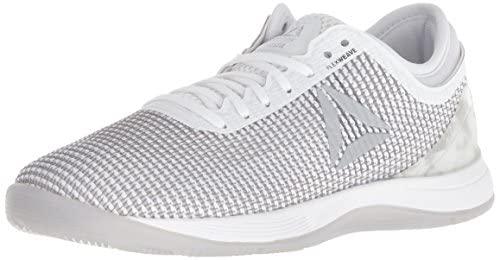 Reebok Women's Crossfit Nano 8.0 Flexweave Workout Joggers, White/Skull Grey/Pure Silver, 5 M US: Buy Online at Best Price in UAE - Amazon.ae