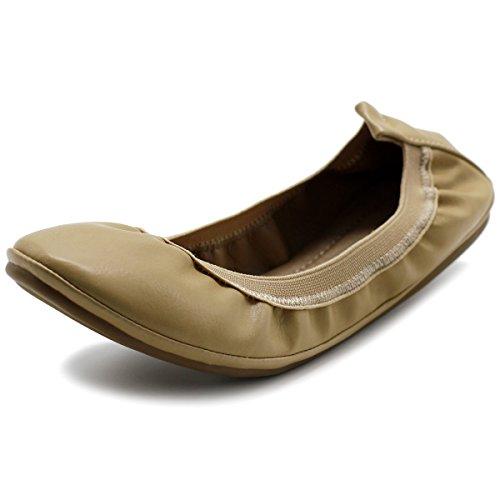 Ollio Women's Shoe Collar Shoe Pull Tab Comfort Ballet Flat- Buy Online in Bahamas at bahamas.desertcart.com. ProductId : 58738392.