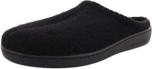 Amazon.com | HAFLINGER Unisex AT Wool Hard Sole Slippers | Slippers