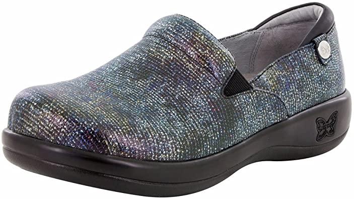 "Amazon.com | Alegria""Keli"" Slip-On Shoe- Glimmer Glam- 42 (11.5-12 US) | Mules & Clogs"