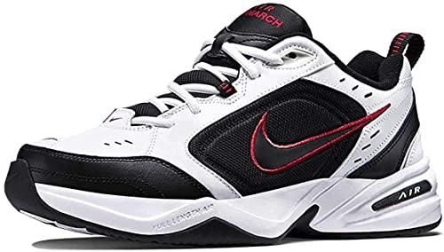 Buy Nike Men's Air Monarch Iv (4E) Training Shoe, White/Black, Size 9.5 at  Amazon.in