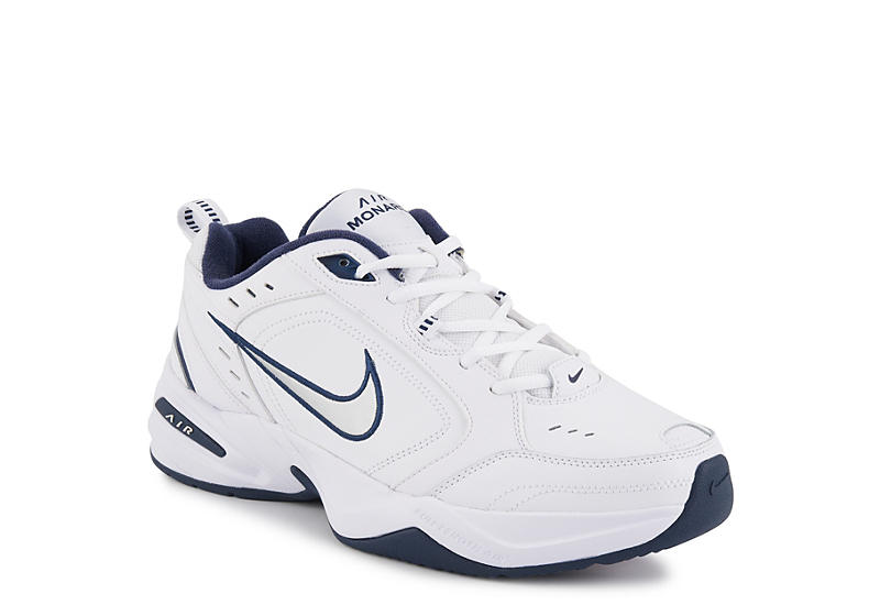 White Nike Air Monarch IV Men's Training Shoes | Rack Room Shoes