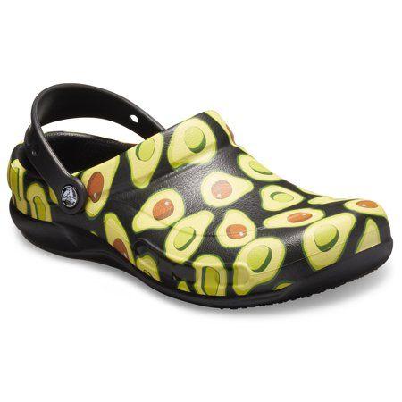 Crocs at Work - Crocs Unisex Bistro Graphic Slip Resistant Work Clogs - Walmart.com in 2021 | Crocs, Crocs shoes, Crocs classic