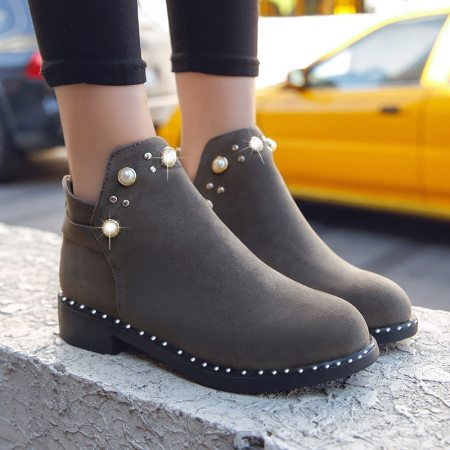 Fashion Boots Snow Winter Ankle Boots Women non-slip Zipper shoes Bottes Female Rhinestone Shoes Warm Plush Insole Botas Mujer buy on ZoodMall. Fashion Boots Snow Winter Ankle Boots Women non-slip Zipper shoes