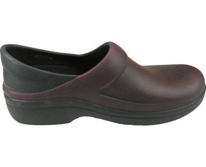 SINGSALE   Crocs Crocs Women's Felicity Distressed Clog Garnet / Black  Ankle High Slip On Shoes