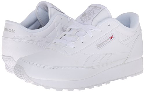 Reebok Women's Classic Renaissance Sneaker, White/Steel, 6 M US | Pricepulse