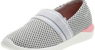 Crocs Women's Literide Mesh Slip On W Mocassins, White (Pearl White/White  115.), 4 UK: Buy Online at Best Price in UAE - Amazon.ae