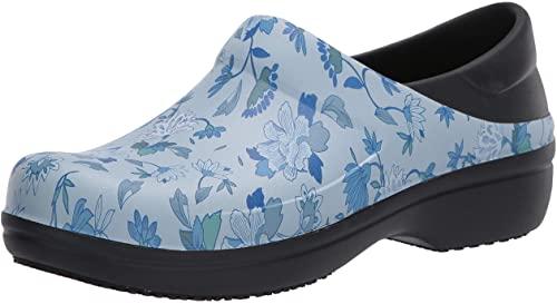 Crocs Women's Neria Pro Ii Clog | Slip Resistant Work Shoes, Black/Blue,  Numeric_11 : Amazon.ca: Clothing, Shoes & Accessories