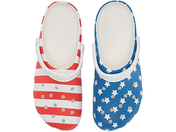 Crocs Classic American Flag Clog | Zappos.com