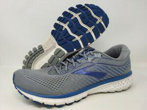 Brooks Men's Ghost 12 Running Shoe, Grey/Alloy/Blue, 12 D(M) US   eBay