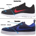 Running Shoes Vs. Sneakers